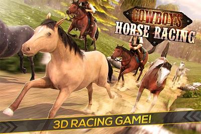 دانلود بازی هیجان انگیز Cowboys Horse Racing Field – اندروید